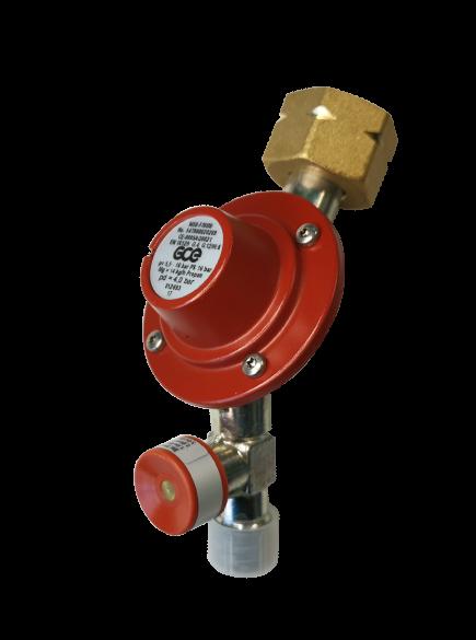 Propan Kleindruckregler bis 14 kg/h