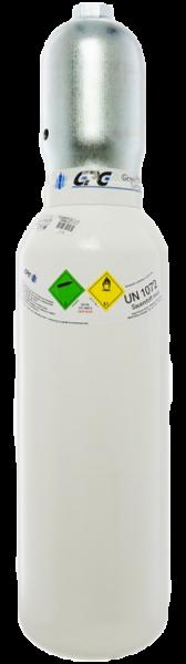 Neuflasche & Füllung mit Sauerstoff med. 5 Liter