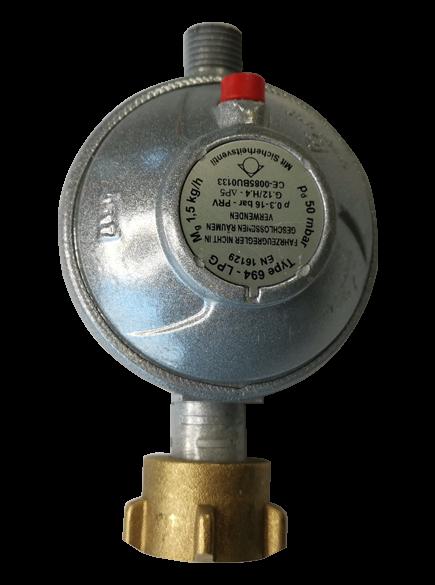 Propandruckminderer 1,5 kg/h