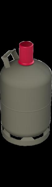 Brenngas f. Nutzungsflasche 5 kg (Camping, grau)