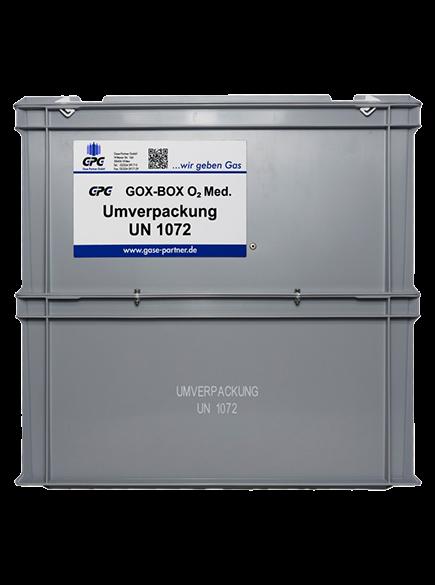 GPG-GOX-BOX med. Gase (Kunststoff)