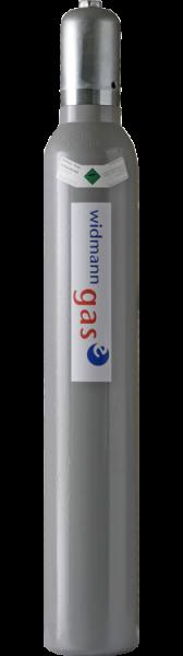 Neuflasche & Füllung Kohlendioxid ohne Steigrohr | 10kg